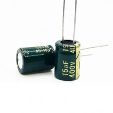 15мкФ (UF) 400В (V) LOW ESR CHONGX