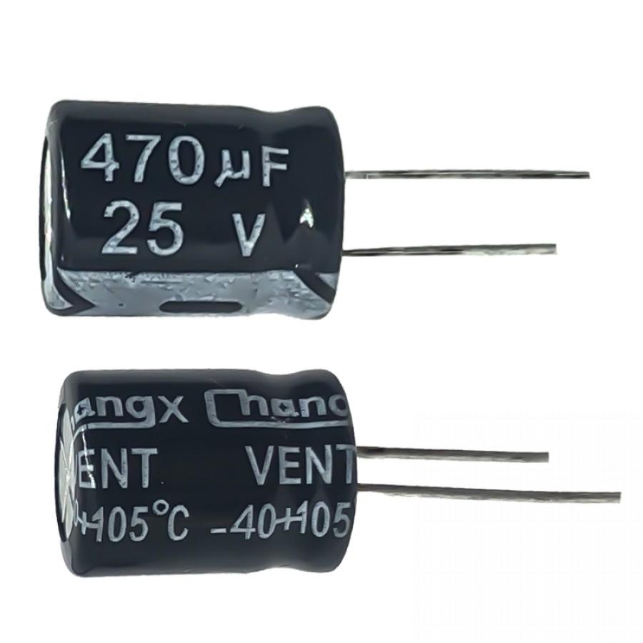 470мкФ (UF) 25В (V) CHONGX