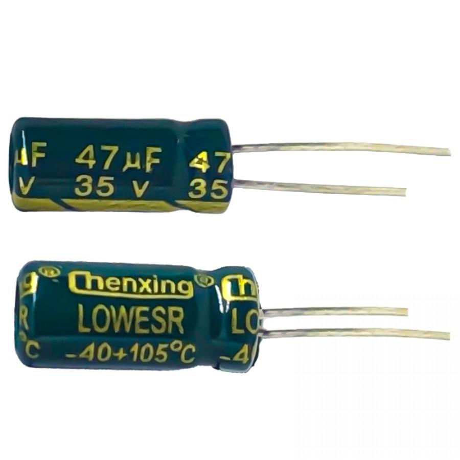 47мкФ (UF) 35В (V) CHENXING LOW ESR