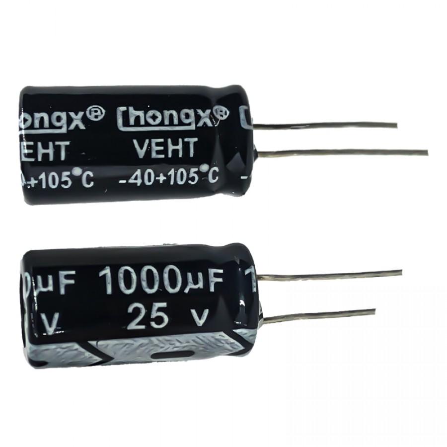 1000мкФ (UF) 25В (V) CHONGX
