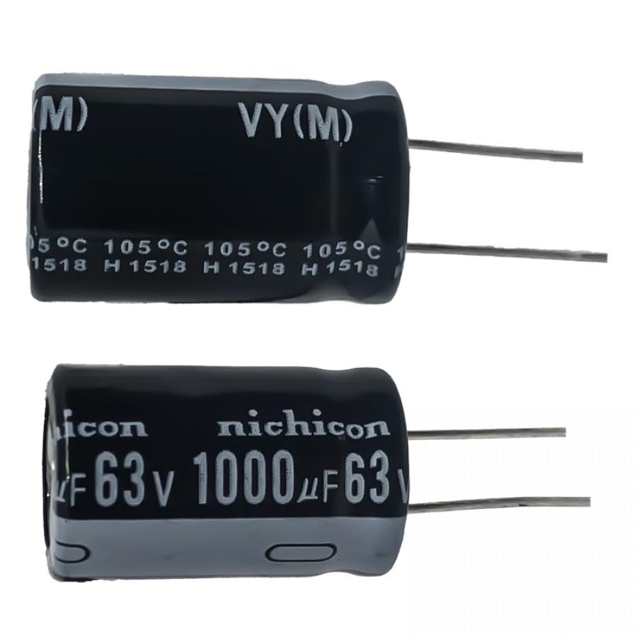 1000мкФ (UF) 63В (V) NICHICON
