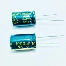1000мкФ (UF) 35В (V) CHENXING LOW ESR