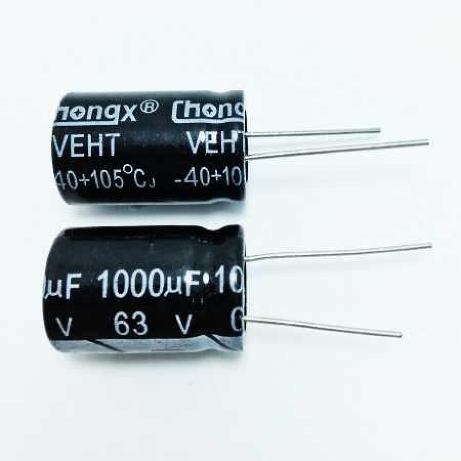 1000мкФ (UF) 63В (V) CHONGX