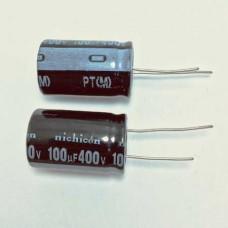 100мкФ (UF) 400В (V) NICHICON