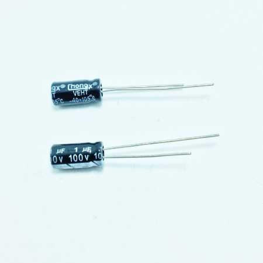 1мкФ (UF) 100В (V) CHONGX