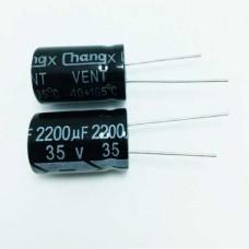 2200мкФ (UF) 35В (V) CHONGX