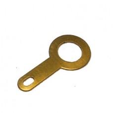 Клемма кольцевая (лепесток) Ф=5.2мм