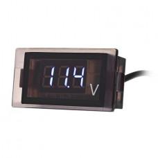 Цифровой герметичный вольтметр 12-24V DC