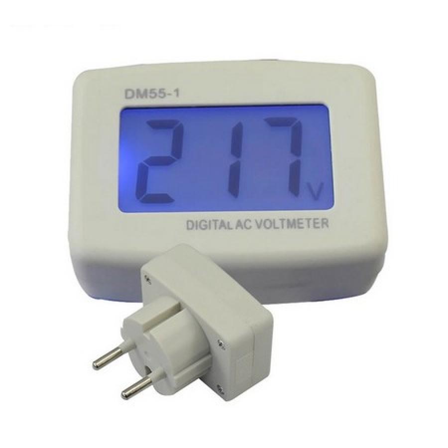 Вольтметр сетевой розеточный AC110-300V