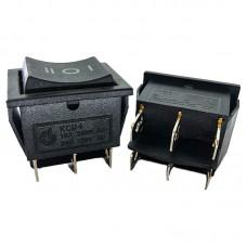 Перемикач KCD4 (16A 250V) чорний