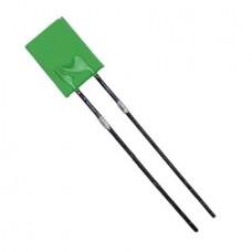 Сигнальный светодиод FYL-2513GD зеленый 5,1х2,1х7мм