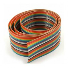 AWG28 26pin 1.27mm colour (100ft) (м)