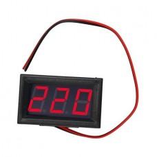 Вольтметр переменного тока DSN-DVM-568AC (Ver 3) красный