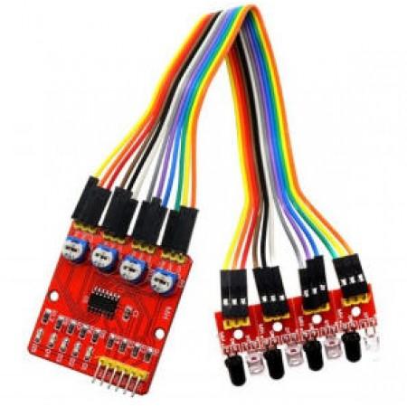 4-канальный ИК датчик XD-201