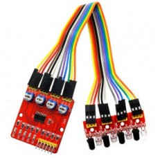4-канальный ИК датчик для Ардуино XD-201 (YL-70+YL-73)